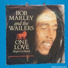 Discos de vinilo: BOB MARLEY - ONE LOVE / PEOPLE GET READY. Lote 121941983