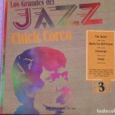Discos de vinilo: CHICK COREA,LOS GRANDES DEL JAZZ DEL 80 DE SARPE VOL.3. Lote 194263120