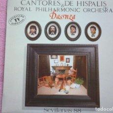 Discos de vinilo: CANTORES DE HISPALIS,DANZA DEL 87. Lote 121949747