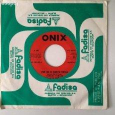 Discos de vinilo: OLMEDO TORRES Y SU SAXO - POR ESO TE QUIERO CUENCA / LA MUCHITA - CUMBIA. Lote 121955723
