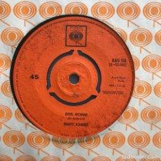 Discos de vinilo: MARTY ROBBINS - DEVIL WOMAN - SINGLE CBS UK 1962. Lote 121956955