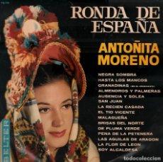 Discos de vinilo: ANTOÑITA MORENO - RONDA DE ESPAÑA LP BELTER DE 1965 RF-5767 . Lote 121958895