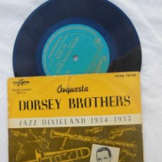 Discos de vinilo: DORSEY BROTHERS : DIPPER MOUTH BLUES; BY HECK; BLUES CANSADOS; DESE DEM DOSE. . Lote 121960275