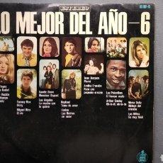 Discos de vinilo: LO MEJOR DEL AÑO 6,,,,,AÑO 1969. Lote 121968214
