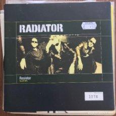 Discos de vinilo: RADIATOR - RESISTOR - SINGLE CHRYSALIS 1998 - VINILO AMARILLO. Lote 121968639