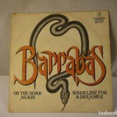 Discos de vinilo: BARRABAS ON THE ROAD AGAIN AÑO 1981. Lote 121971275
