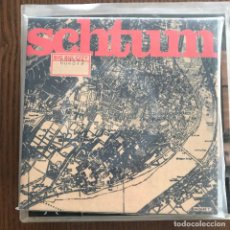 Discos de vinilo: SCHTUM - BIG BIG CITY - SINGLE SONY 1995 - PORTADA CAJA DE CARTÓN. Lote 121971787