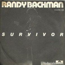 Discos de vinilo: RANDY BACHMAN. SINGLE. SELLO POLYDOR. EDITADO EN ESPAÑA. AÑO 1978. Lote 121972759