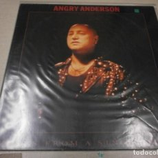 Discos de vinilo: LP. ANGRY ANDERSON - BEATS FROM SINGLE DRUM. Lote 121974347