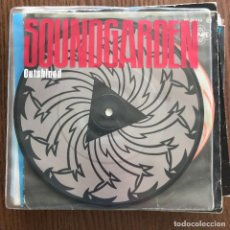 Discos de vinilo: SOUNDGARDEN - OUTSHINED - SINGLE A&M UK 1992 - PICTURE DISC. Lote 121974447