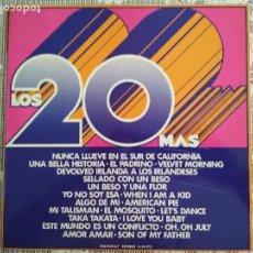 Discos de vinilo: LOS 20 MAS, VOL 2, EDITA MOVIEPLAY. Lote 121987463