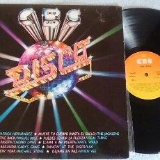 Discos de vinilo: CBS LO MEJOR DE LA MÚSICA DISCO LP. Lote 121990410