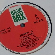 Discos de vinilo: JOHNNY O FANTASIA GIRL MAXI-SINGLE VINILO. Lote 121991728