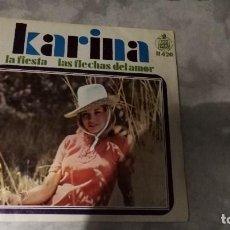Discos de vinilo: KARINA.- LAS FLECHAS DEL AMOR . Lote 121992631