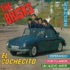 Discos de vinilo: THE BRISKS, EP, EL COCHECITO + 3, AÑO 1965. Lote 121994791
