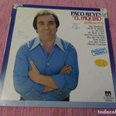 Discos de vinilo: PACO REYES 'EL PAQUIRO' - EL PRESO Nº9. Lote 121995087