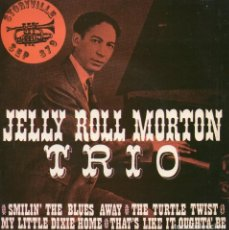 Discos de vinilo: JELLY ROLL - MORTON TRIO -, EP, SMILIN´THE BLUES AWAY + 3 , AÑO 19?? TRADE MARK ??. Lote 121997907