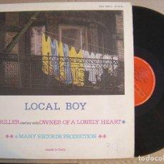 Discos de vinilo: LOCAL BOY - THRILLER - MAXI 1984 - POLYDOR. Lote 122000199