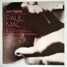 Discos de vinilo: JOHN TEJADA - THE TOILING OF IDLE HANDS PAUL MAC ELECTRONIC MINIMAL TECH HOUSE VINILO VINYL TECHNO. Lote 122001203