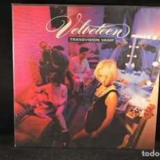 Discos de vinilo: TRANSVISION VAMP - VELVETTEN - LP. Lote 122003271