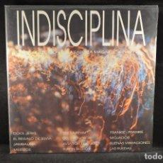Discos de vinilo: VARIOS ?- INDISCIPLINA - UNA COLECCION DE LA FABRICA MAGNETICA 1988-92 - LP. Lote 122009619