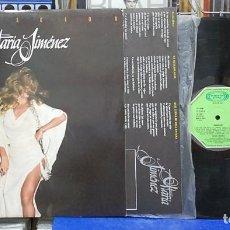 Discos de vinilo: MARÍA JIMENEZ. SENSACIÓN. MOVIEPLAY 1980, REF. 17.2040 6. LP. Lote 122013983
