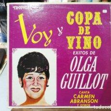 Discos de vinilo: OLGA GUILLOT - ÉXITOS DE OLGA GUILLOT, CARMEN ABRANSON, CELESTE MENDOZA - LP, . Lote 122015251