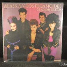 Discos de vinilo: ALASKA Y LOS PEGAMOIDES - GRANDES EXITOS - LP. Lote 122018515