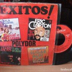 Discos de vinilo: VARIOS - EXITOS EXITOS - ACOPLAMIENTO ESPECIAL SINGLE SPAIN 1974 PDELUXE. Lote 122027071