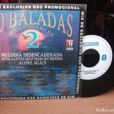 Discos de vinilo: VARIOS - BALADAS 50 BALADAS INOLVIDABLES SINGLE SPAIN 1992 PDELUXE. Lote 122028647
