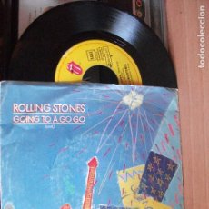 Discos de vinilo - THE ROLLING STONES GOING TO A GOGO single spain 1982 PDELUXE - 122025111