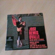 Discos de vinilo: JOSE REMIS OVALLE, GAITERO MAYOR DE ASTURIAS. Lote 122028934
