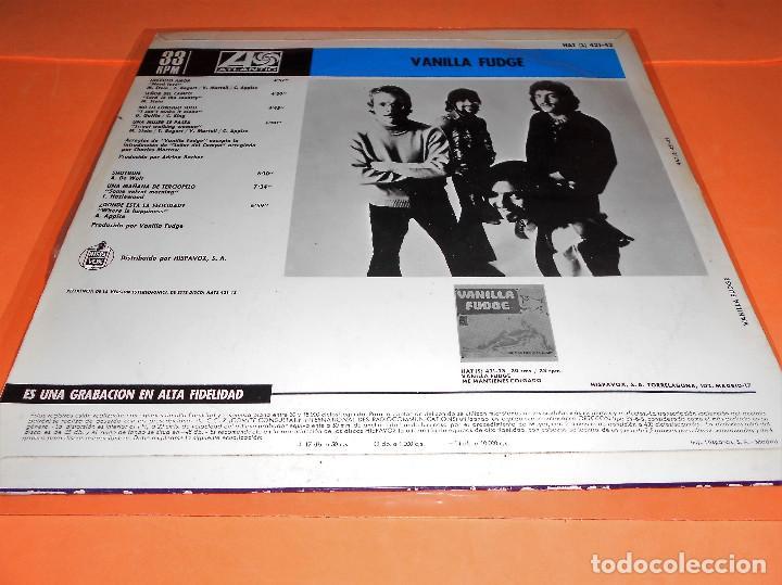 Discos de vinilo: Vanilla Fudge - Vanilla Fudge LP Compilacion. 1969. Atlantic-Hispavox - Foto 2 - 122030099