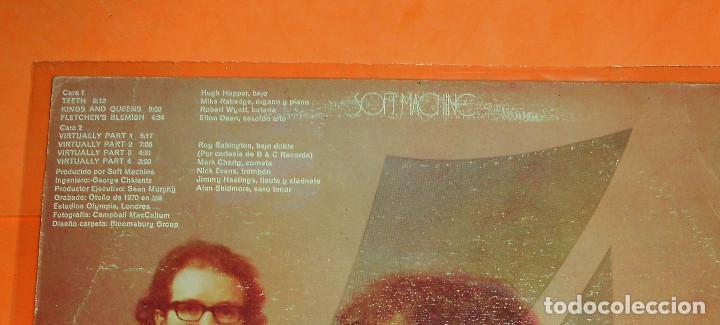 Discos de vinilo: SOFT MACHINE. 4. LP. CBS.1971. RARO. - Foto 3 - 122033447