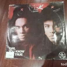 Discos de vinilo: MILLI VANILLI-GIRL YOU KNOW IT'S TRUE.MAXI ESPAÑA. Lote 122036651