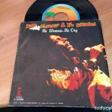 Discos de vinilo: BOB MARLEY (NO WOMAN NO CRY) SINGLE ESPAÑA 1980 (EPI11). Lote 122037235