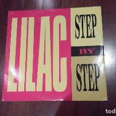 Discos de vinilo: LILAC-STEP BY STEP.MAXI. Lote 122037951