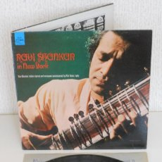 Discos de vinilo: RAVI SHANKAR IN NEW YORK 1967 ORIGINAL USA LP WORLD PACIFIC INDIAN MUSIC BEATLES. Lote 122043191