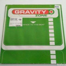 Discos de vinilo: GRAVITY ZONE - DANCE TO THE BEAT. Lote 122044676