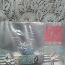 Discos de vinilo: MR. BIG LIVE. Lote 122047959