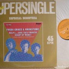 Discos de vinilo: FREDI GRACE & RHINSTONE - HELP SAVE THIS FRANTIC - MAXI SINGLE 1982 - RCA. Lote 122055987