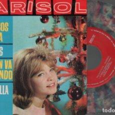 Discos de vinilo: MARISOL - VILLANCICOS DE TRIANA / LOS PECES / LA VIRGEN VA CAMINANDO ...EP ZAFIRO DE 1963 RF-3482 . Lote 122062671