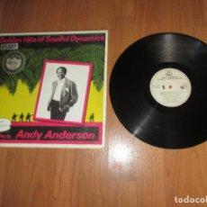 Discos de vinilo: ANDY ANDERSON - GOLDEN HITS OF SOULFUL DYNAMICS - MAXI MEDLEY - SPAIN - DIVUCSA - IBL - . Lote 122075599