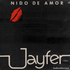 Discos de vinilo: JAYFER - NIDO DE AMOR - LP SURCOSUR DE 1981 ,DOBLE PORTADA, RF-5780. Lote 122080815