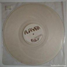 Discos de vinilo: PLAYER - PLAYER FOUR PLAY004 DISCO TRANSPARENTE MINIMAL ELECTRONIC VINILO VINYL TECHNO. Lote 122081063