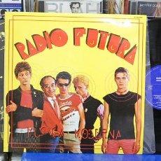 Discos de vinilo: RADIO FUTURA. MÚSICA MODERNA. HISPAVOX 1980, REF. S 60.394. LP. Lote 122085035