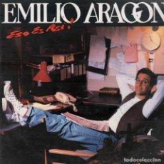 Discos de vinilo: EMILIO ARAGON / ESO ES ASI /LP CBS DE 1992 ,RF-5784 , BUEN ESTADO *****. Lote 122085363