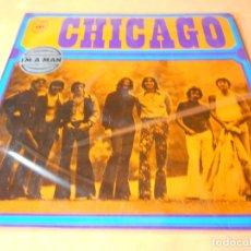 Discos de vinilo: CHICAGO.1. I'M A MAN. THE CHICAGO TRANSIT AUTHORITY. LP . CBS 1970. Lote 122086607