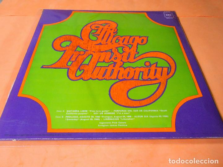 Discos de vinilo: CHICAGO.1. I'M A MAN. THE CHICAGO TRANSIT AUTHORITY. LP . CBS 1970 - Foto 2 - 122086607