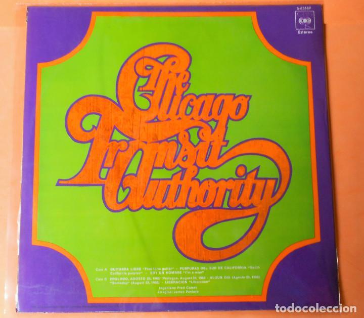 Discos de vinilo: CHICAGO.1. I'M A MAN. THE CHICAGO TRANSIT AUTHORITY. LP . CBS 1970 - Foto 3 - 122086607